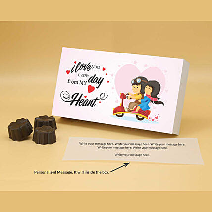 Online Everyday You Personalised Chocolate Box