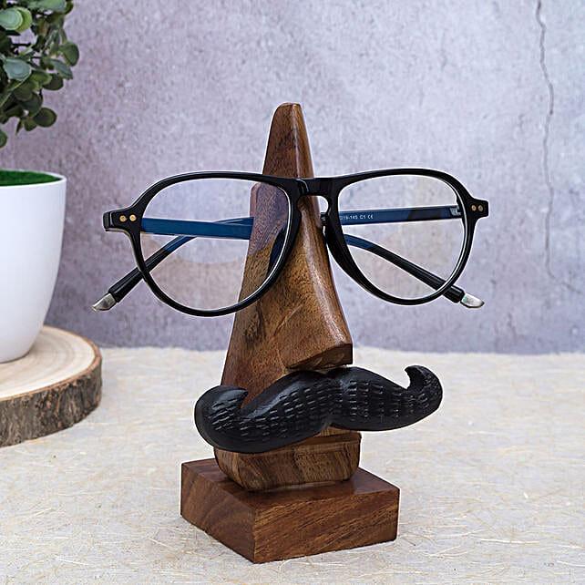 Wooden Eyeglass Holder for Men