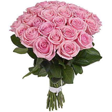 Fairytale Pink Roses Bunch