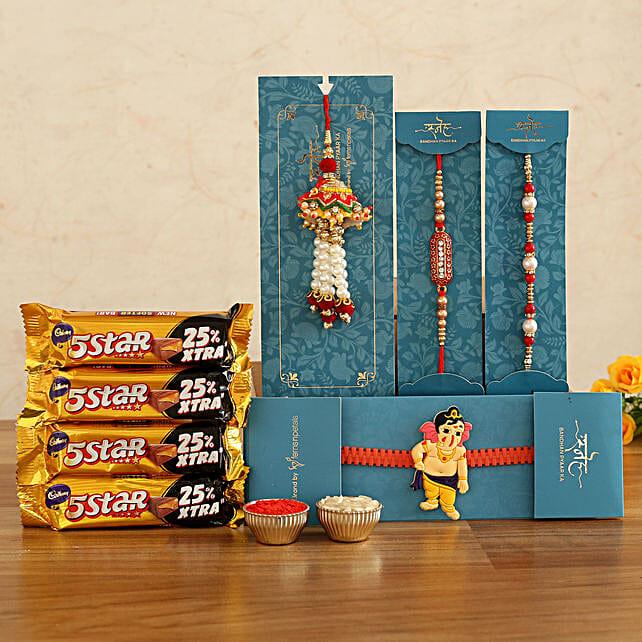 family rakhi online