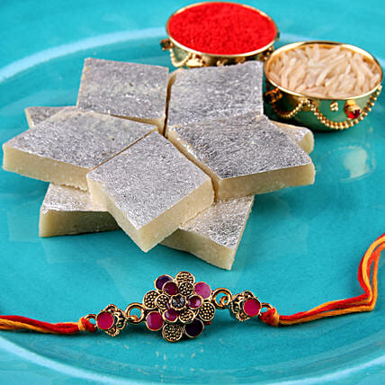 Fancy Rakhi Sweets Combo