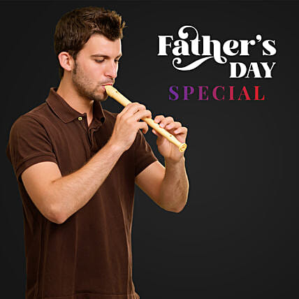 Father's Day Melodies on Flute:Flute Player on Call