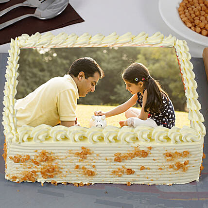 Butterscotch cakes for Dad:Photo Cakes For Father's Day
