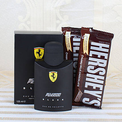 Chocolate and Perfume Combo for Him