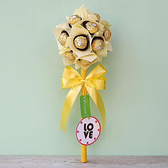 Send Ferrero Rocher Bouquet Online