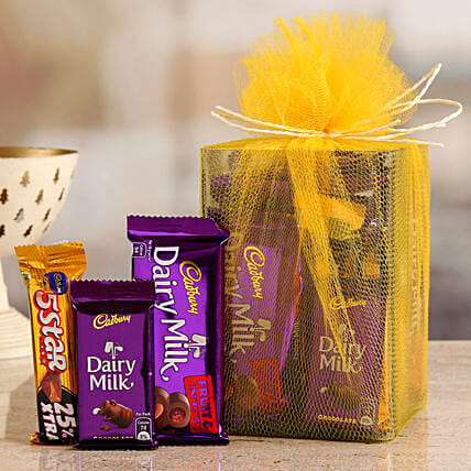 Online Cadbury Chocolates Gift Hamper:Diwali Chocolates
