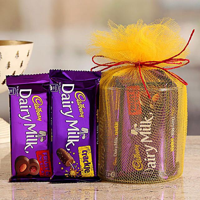 Online  Cadbury Crackle And Fruit N Nut Gift Hamper