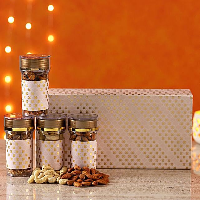 Festive Delight Dry Fruit Gift Box
