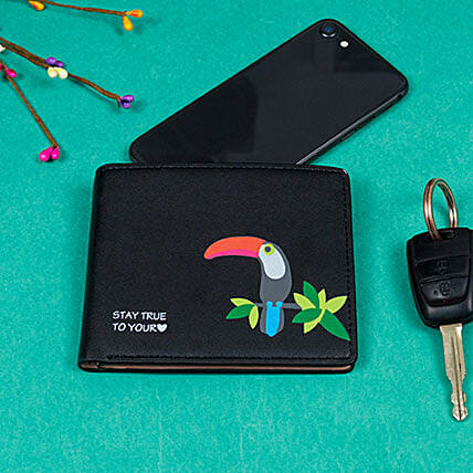 Black Wallet for Women's