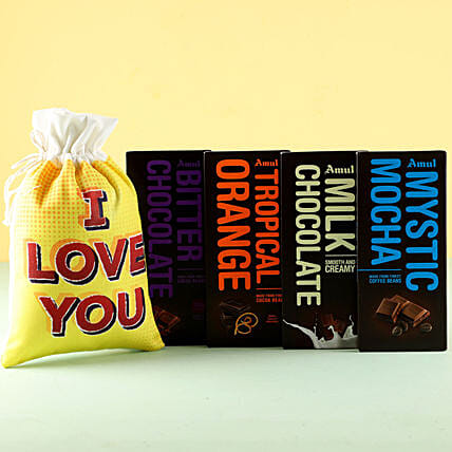 Online Flavorful Amul Chocolates Love
