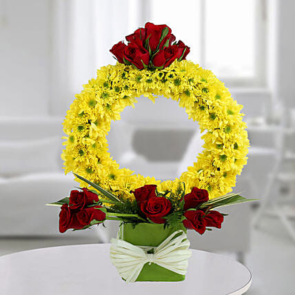 Yellow Flower Arrangement:Fresh Flower Arrangement