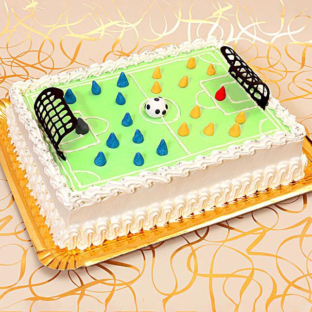 OnlineFootball Field Theme Cake