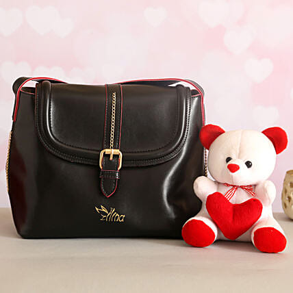 For Her Sling Bag Cute Teddy