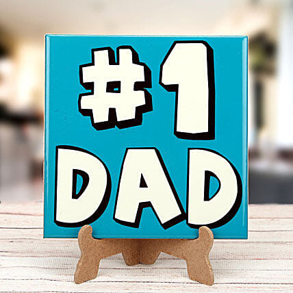 No 1 dad tabletop:Plaques Gifts