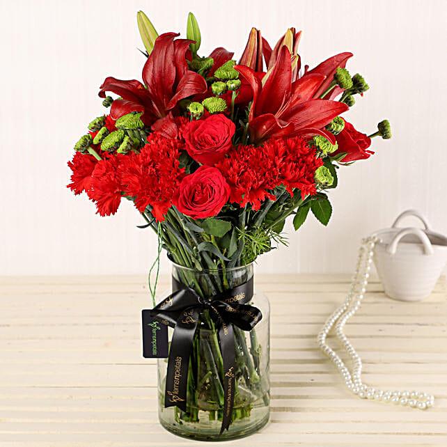 Online Flower Glass Vase