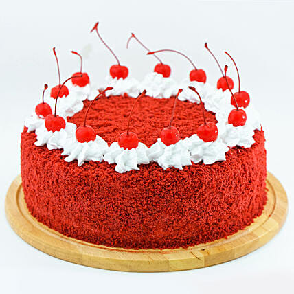 Fresh Red Velvet Cream Cake