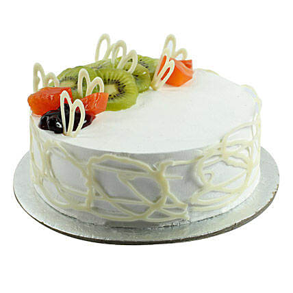 Fresh Ultimate Happiness Birthday Cake 1kg:Send Cakes to Alwaye