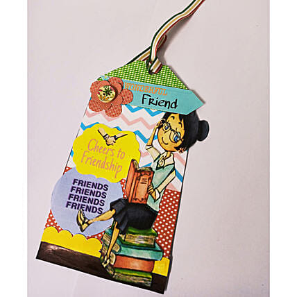 Friends Forever Tag For Bookmark