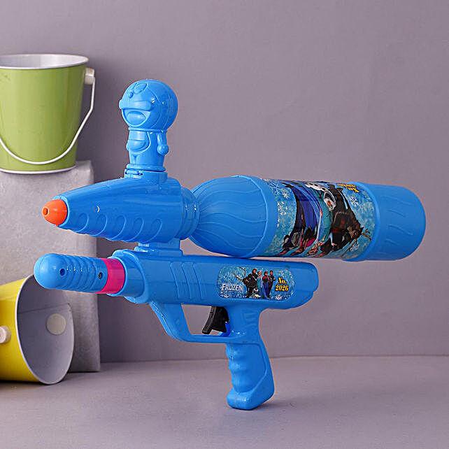 Frozen Ocean Blue Water Gun