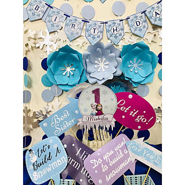 Frozen Theme Birthday DIY Box