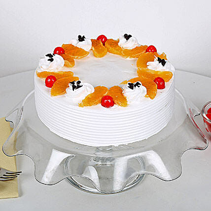 Fruit Cake 1 kg Eggless:Send Gifts for 10Th Anniversary