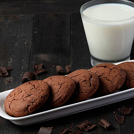 delicious fudge cookies box