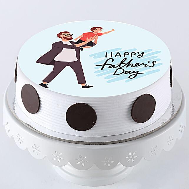 Cool Dad Photo Cake Online