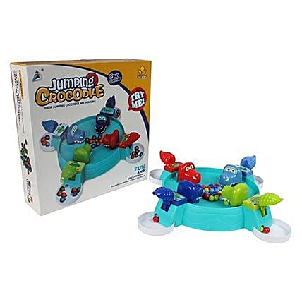 Crocodile game set