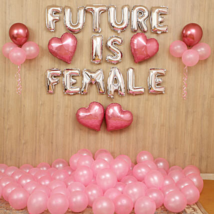 Future Is Female Balloon Décor