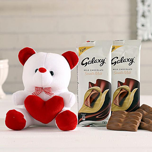 Galaxy Bars & Teddy Combo