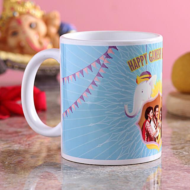 Ganpati Ji Print Coffee Mug:Ganesh Chaturthi Gifts