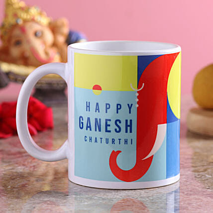 Ganesh Chaturthi Greetings Mug