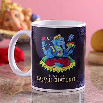 Ganesha Printed Coffee Mug