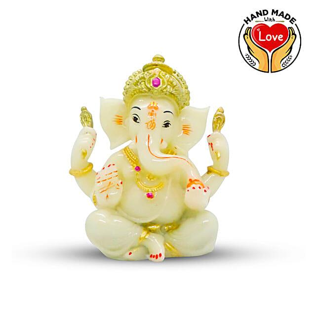 Handcradred Ganesha Crown Green Online