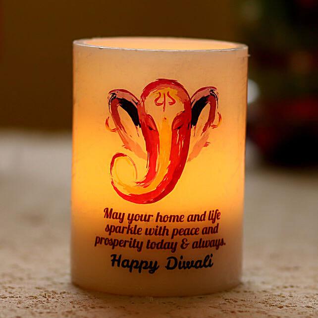 ganesha diwali candle online