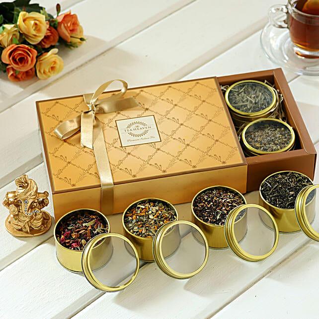 Ganehs with Types Tea Hamper
