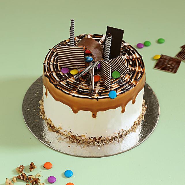 Online Caramel Gems Cake