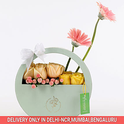 Online Gerbera & Rose Box