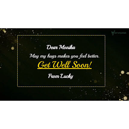 Get Well Soon Personalised Video- For Her