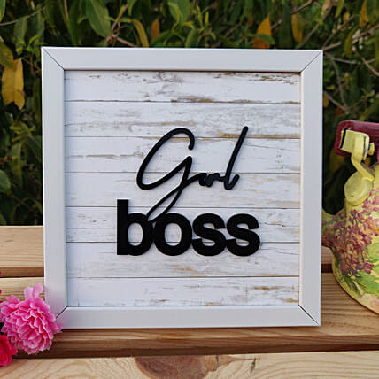 Girl Boss Table Frame