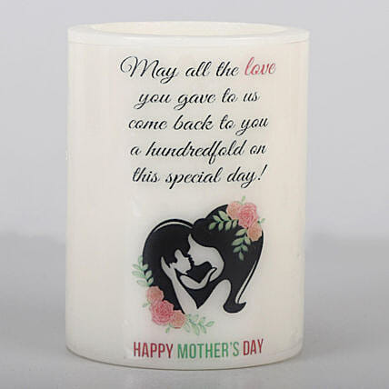 Online Mother's Day T-Light:Buy Candles