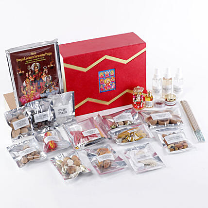 Goddess Lakshmi Pooja Box