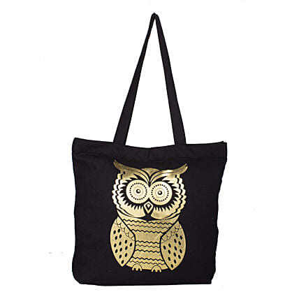 traditional printed tote bag
