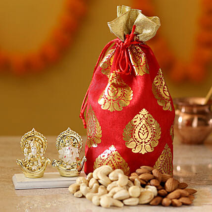 diwali idols with dry fruits online