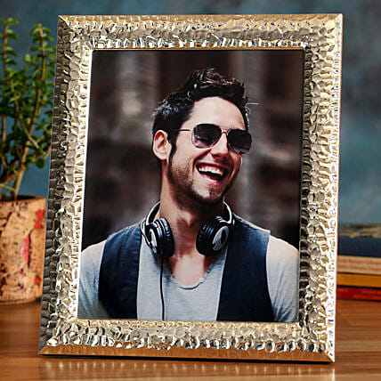 Online Golden Personalised Photo Frame