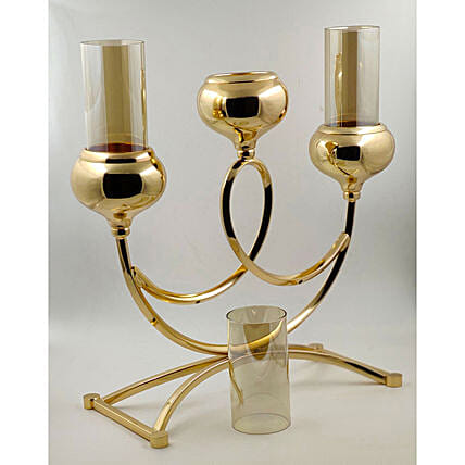 Aluminium Candle Holder:Lighting Accessories