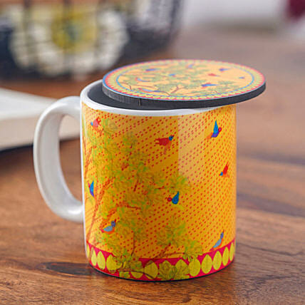 Send Online Mug With Coaster