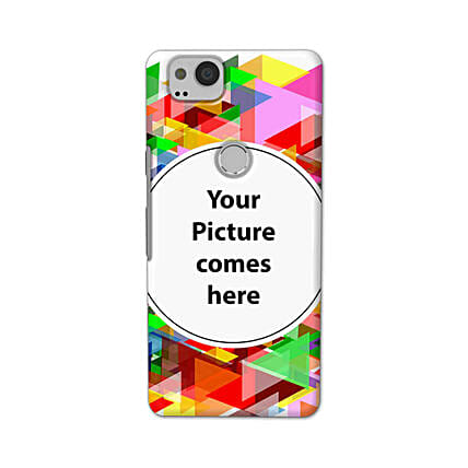 Google Pixel 2 Multicolor Personalised Phone Cover