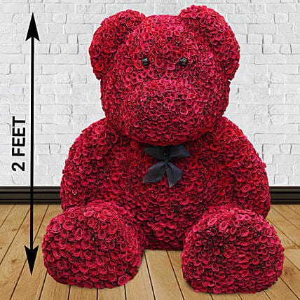 Online Red Rose Teddy,Know more about the days leading up to Valentine's day like Rose Day, Chocolate day and Anti-Valentine's day like break up day, slap day and more.