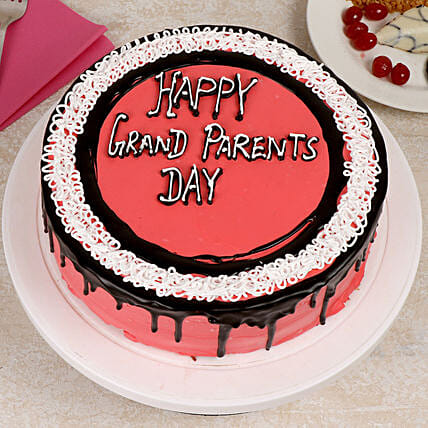 Vanilla Cake for Grand Parents Day Online:Grandparents Day Cakes